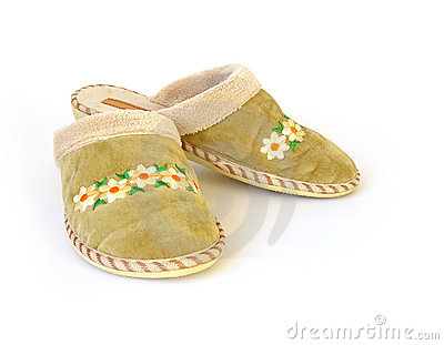 Pair house slippers