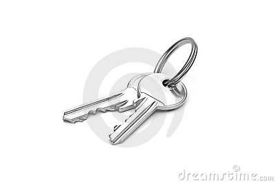A pair of keys
