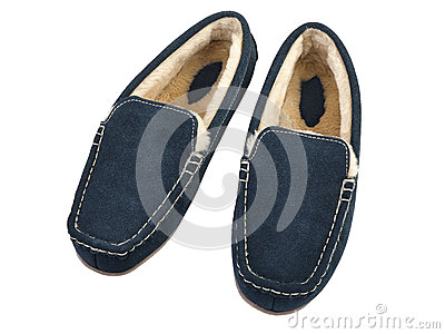 Pair of male house slippers