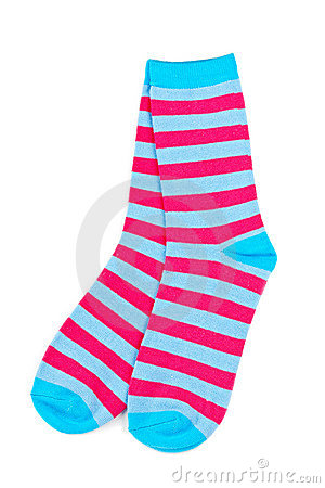 Free Pair Of Colorful Socks Stock Photos - 12590123