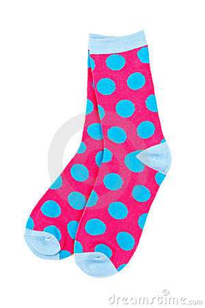 Free Pair Of Colorful Socks Stock Photo - 13037840