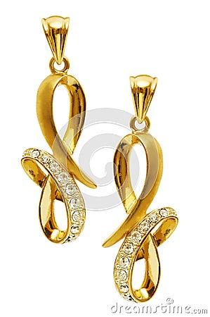 Free Pair Of Earrings Stock Photo - 11886210