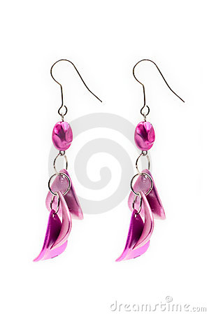 Free Pair Of Earrings Stock Photo - 494390