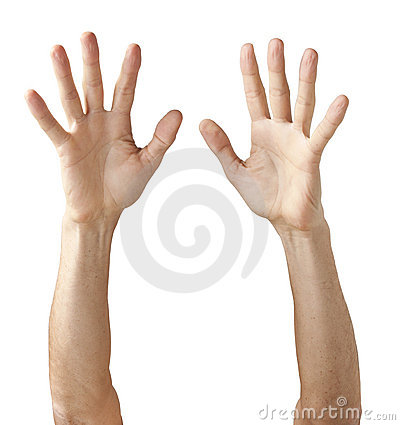 Free Pair Of Hands Reaching Up Stock Photo - 20077390