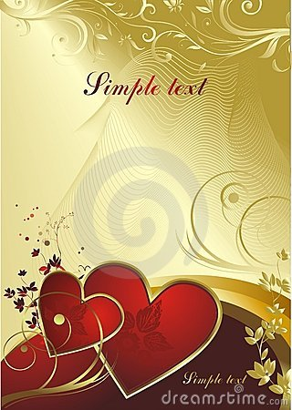 Free Pair Of Red Hearts Stock Photography - 7577252