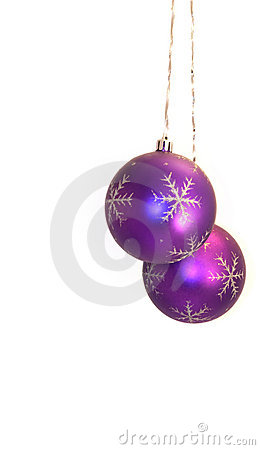 Free Pair Of Violet Balls Stock Photo - 11722210