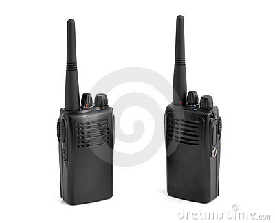 Pair of portable radio sets