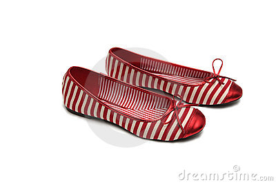 Pair of red shoes