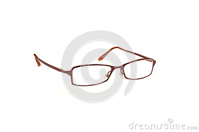 Pair of red spectacles
