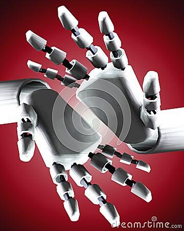 Pair Of Robo Hands 7