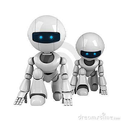 Pair of robots