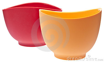 Pair of Silicone Mixing Bowls