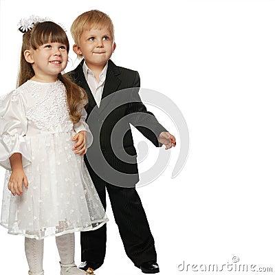 Free Pair - The Boy The Girl Stock Photos - 7882043