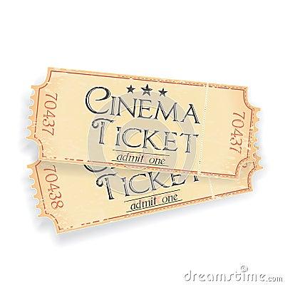 Pair of cinema tickets