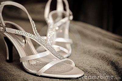 A Pair of Wedding Shoe