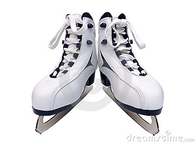 A pair of women s skates
