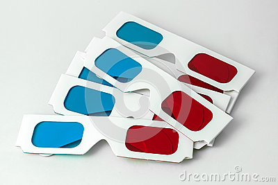 Pairs of 3D glasses