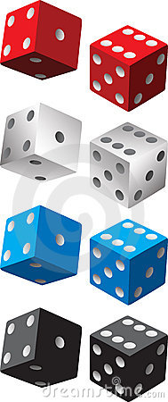 Free Pairs Of Dice Royalty Free Stock Images - 8915279