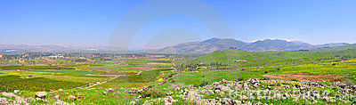 Paisagem de Israel