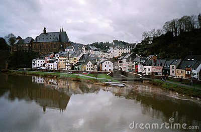 Paisaje del río, Alemania