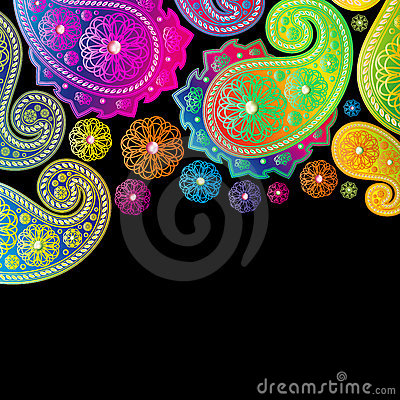 Paisley Color Designs.