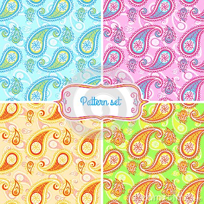 Free Paisley Pattern Royalty Free Stock Images - 50448469