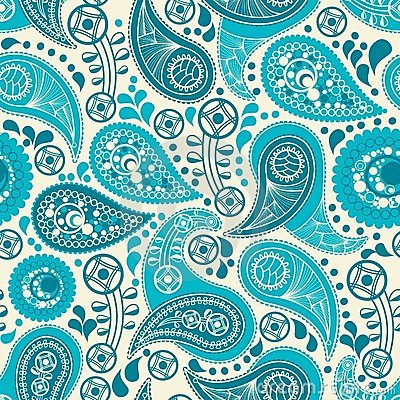 Paisley Seamless Background Royalty Free Stock Photography ...