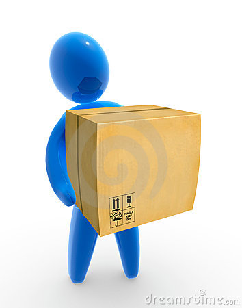 Free Pakage Delivery Stock Images - 8654434