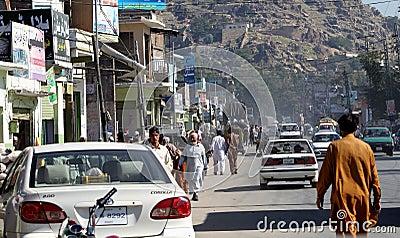 Pakistan życie codzienne Obraz Editorial