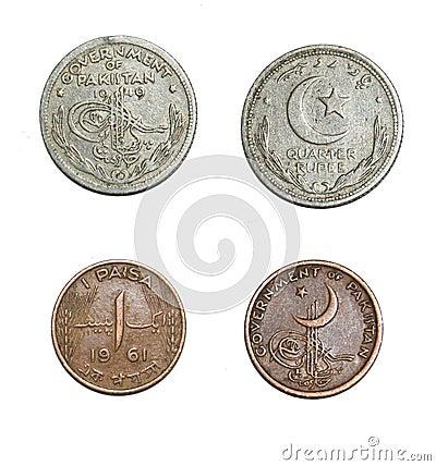 Free Pakistan Coins Stock Photo - 125931150