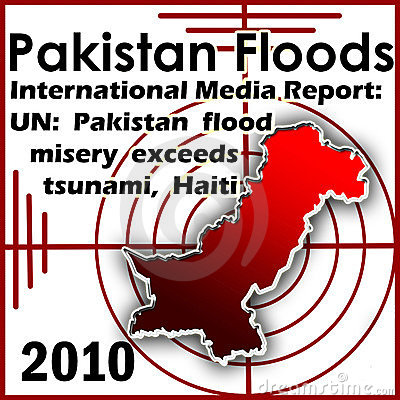 Pakistan Floods 2010 Editorial Photography