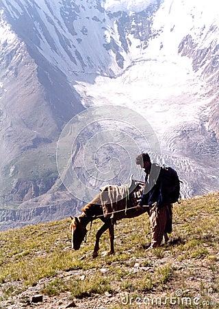 Pakistan mountainside