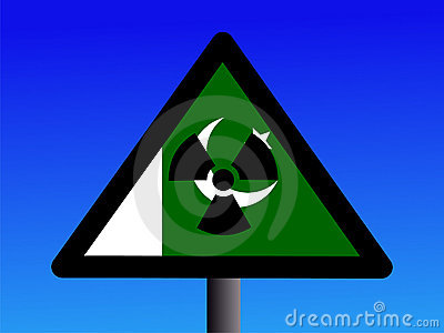 Pakistani radioactivity sign