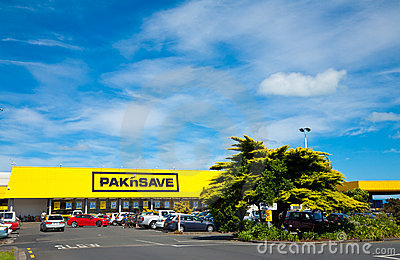 Pakn Save store Editorial Photography