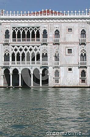 Palácio do d Oro de Ca, Veneza, Italy