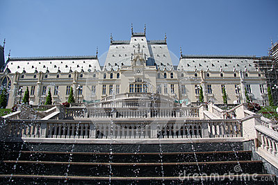 Palace of Culture in Iasi (Romania) Editorial Image