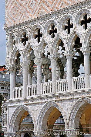 Palace Ducal - detail 2, Venice