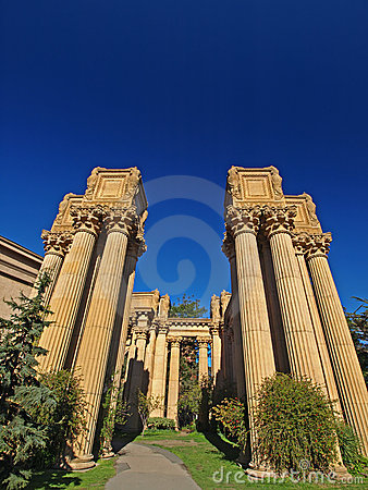 Palace of Fine Arts in San Francisco.