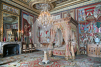 Palace of Fontainebleau Editorial Stock Image