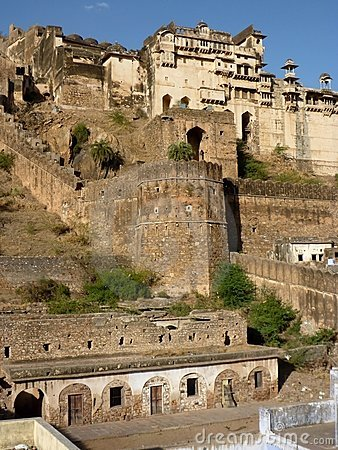 Palace fort of Bundi, India