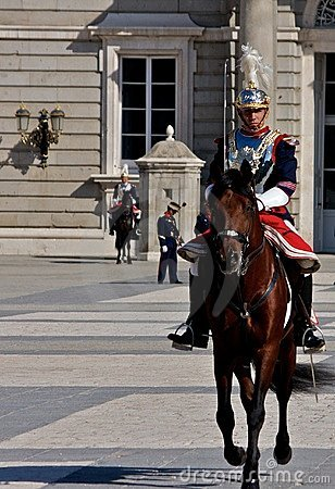 Palace Guard Editorial Stock Photo
