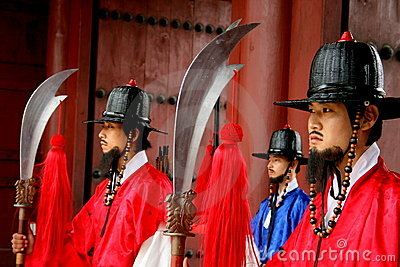 Palace guards Editorial Stock Photo