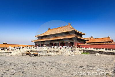 Palace of heavenly purity in beijing