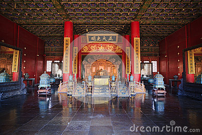 Palace of Heavenly Purity interior