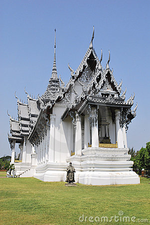 Free Palace In Thai Epic Royalty Free Stock Photography - 13890227