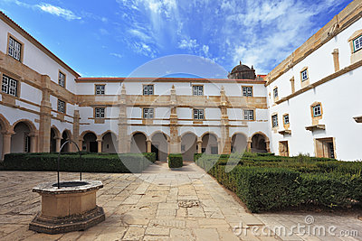 Palace of the Knights Templar in Tomar, Portugal