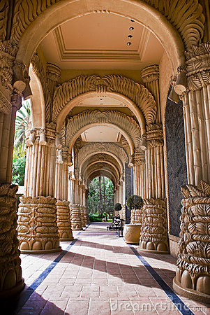 The Palace of the Lost City - Arched Entrance