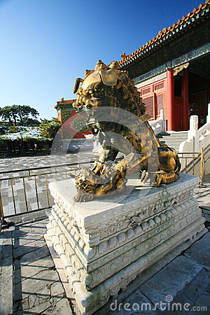 The Palace Museum bronze lions
