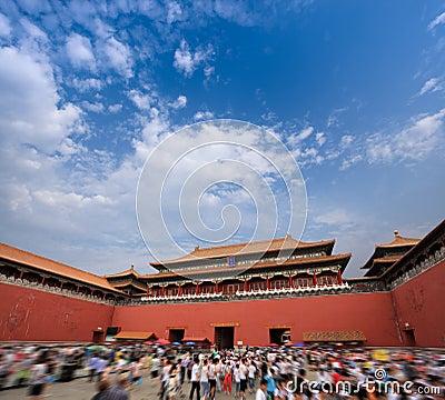 Palace museum meridian gate
