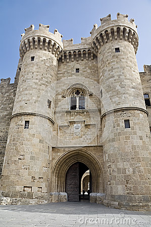 Free Palace Of The Grand Master Of The Knights Of Rhodes Stock Photo - 42236080